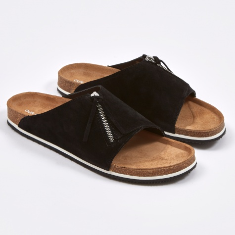 Tassle Slip On - Pirate Black/Honey