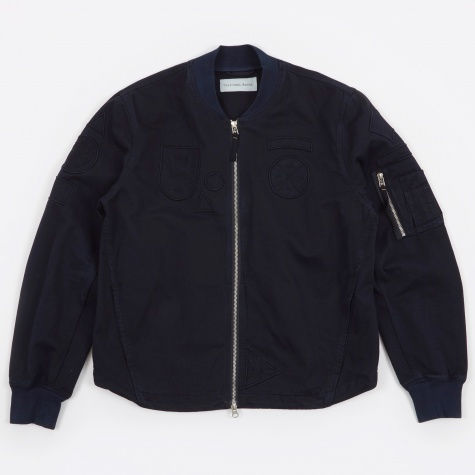 MA1 Jacket w/Badges - Navy