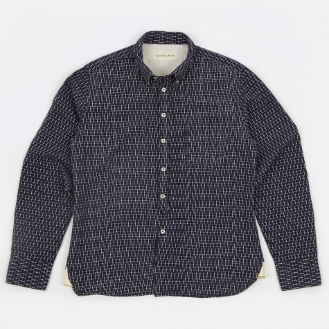 Everyday Shirt Ikat - Navy