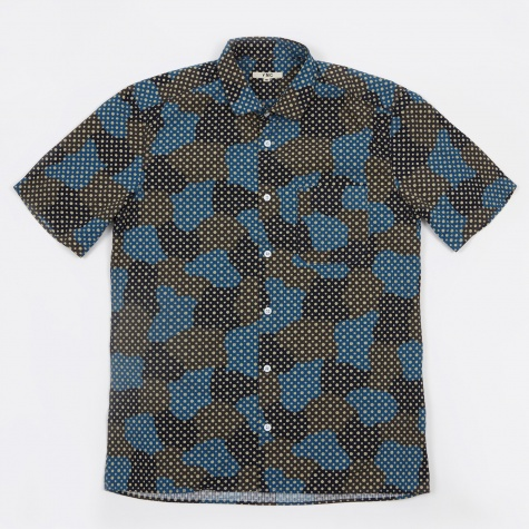 Spot Cloud SS Shirt - Blue