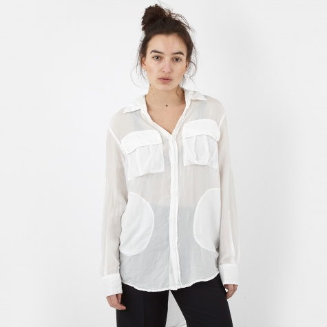 Silk Shirt - White