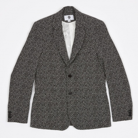 Kreuzberg Suit Blazer - Black w White Dots