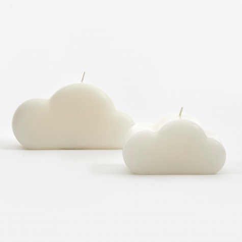 Cloud Candle - White