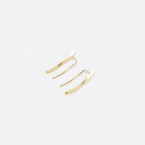 Earpiece PHASE (Pair) - 18K Gold Plated
