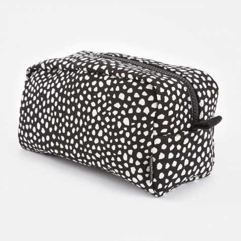 Wrong for Hay Dot Wash Bag Large - Black