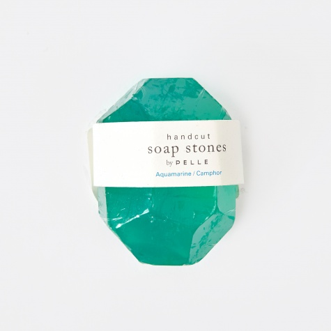 Soap Stones Aquamarine/Camphor Nugget - 3oz
