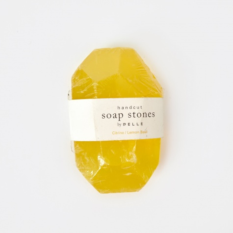 Soap Stones Citrine/Lemon Basil Stone - 6oz