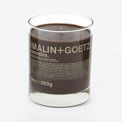Malin & Goetz Scented Candle - Cannabis