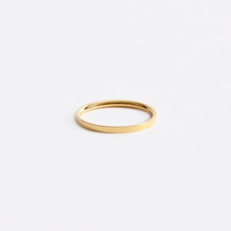 The BoyScout Ring FACET S - 18K Gold Plated