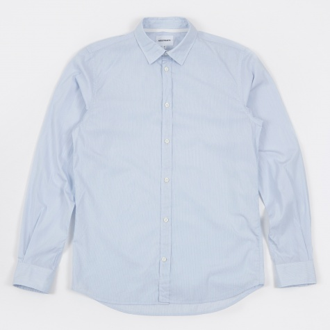 Toke Poplin Shirt - Hairline Stripe