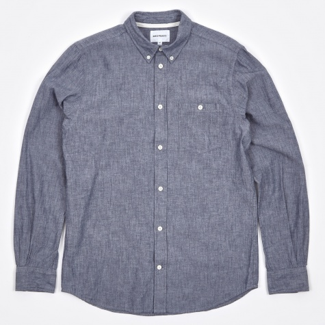 Anton Chambray Shirt - Indigo