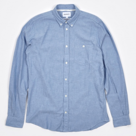 Anton Chambray Shirt - Light Indigo