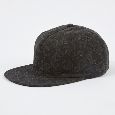 Paisley Trucker Cap - Dried Olive