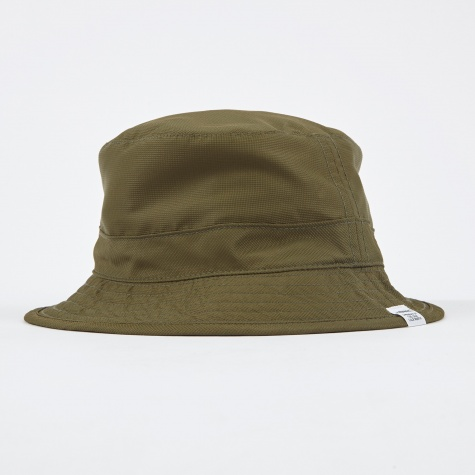 Foldable Light Ripstop Bucket Hat - Dried Olive