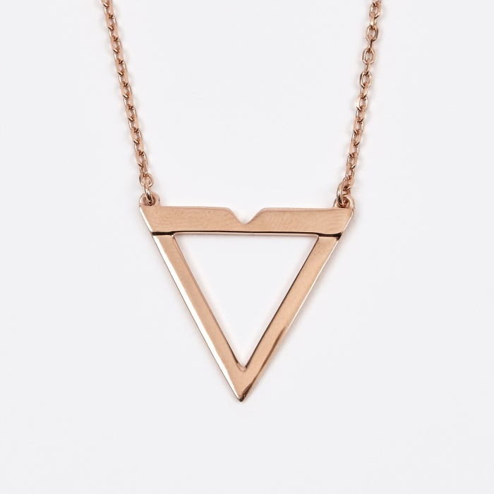 Maria Black Vamp Necklace - Rose Gold (Image 1)