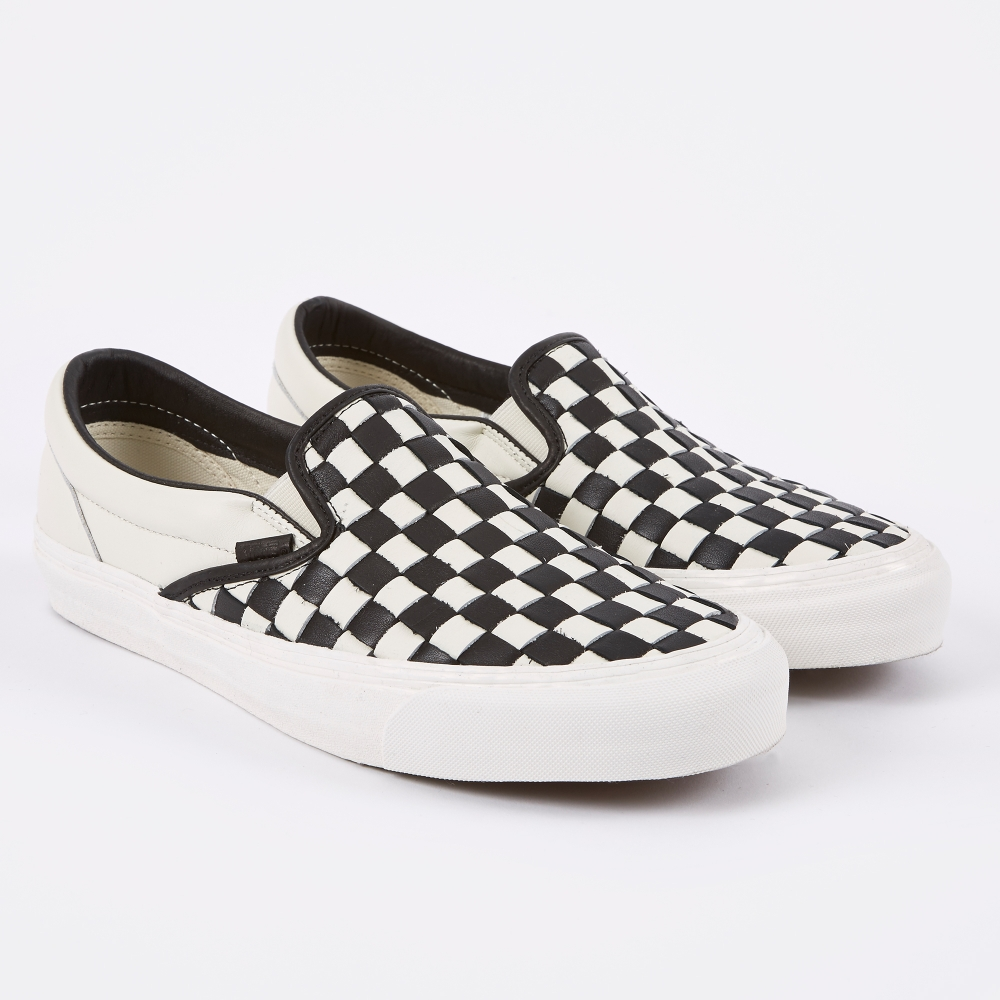 vans slip on checkerboard for sale