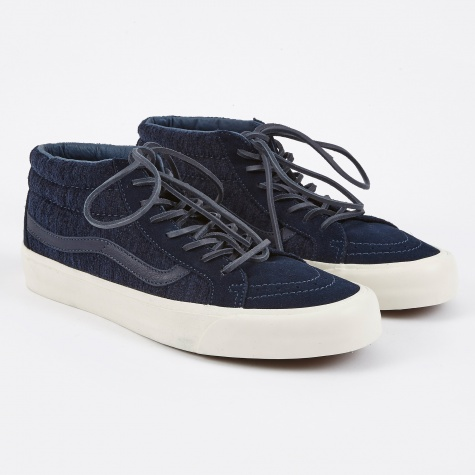 Vault OG Sk8-Mid LX Woven - Dress Blues