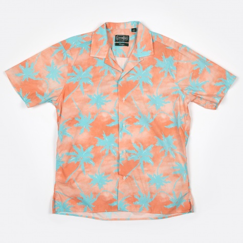 Camp Shirt SS - New Wave Palm