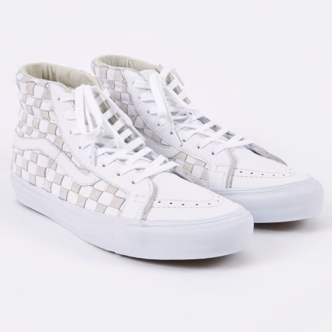 OG Sk8-Hi LX 50th Woven - Checkerboard/White/White