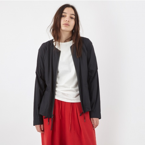 Jacket With Draw Cord - Black