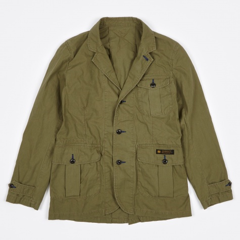 Safari Jacket - Olive Drab