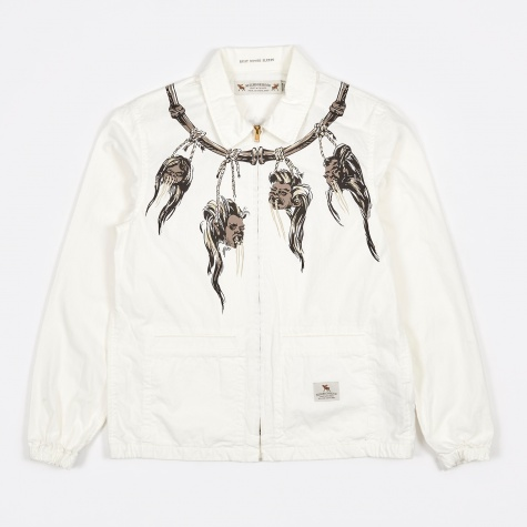 Shrunken Head Jacket - White