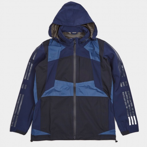 x White Mountaineering Shell Jacket - Night Navy