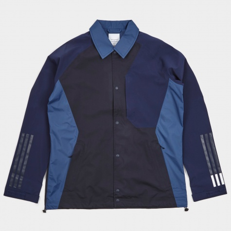 x White Mountaineering Bench Jacket - Night Navy
