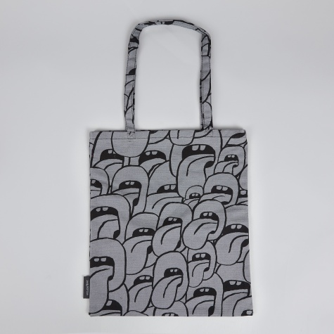Wrong for Hay Tote Bag by Jody Barton - Grey