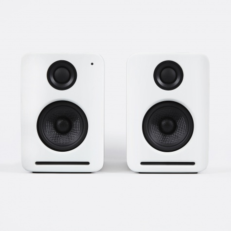 NS2 V2 Air Monitors with Airplay - White