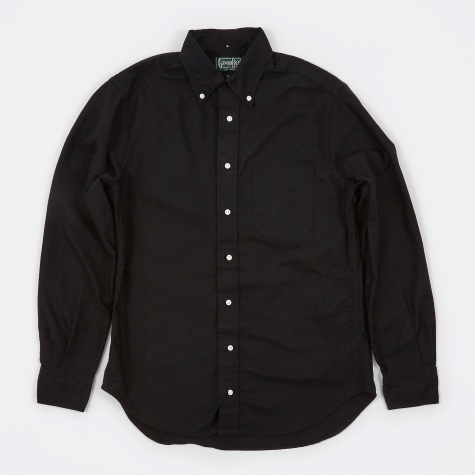 Oxford Shirt - Black Overdye