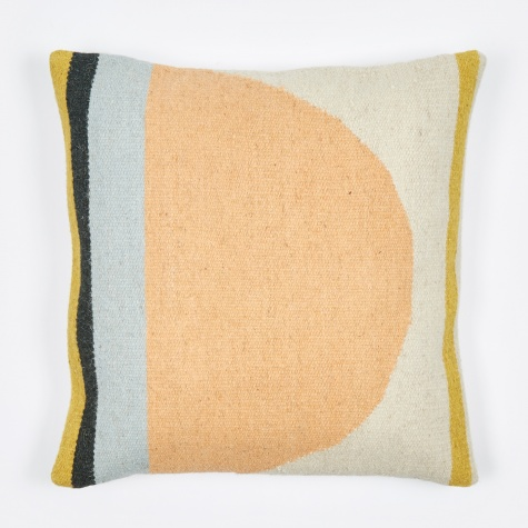 Kelim Cushion - Semicircle