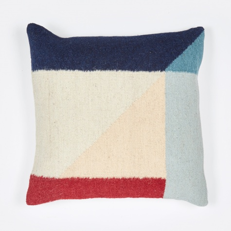 Kelim Cushion - Rose Triangle