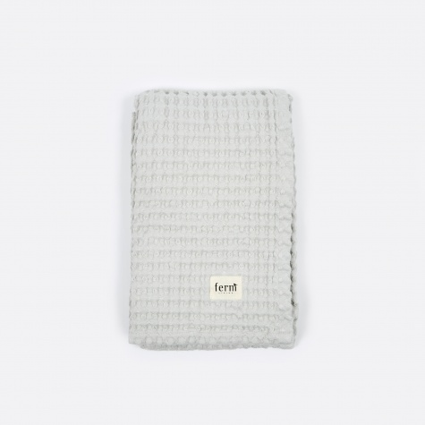 Organic Hand Towel - Light Grey