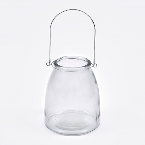 lantern 'Elly' - Glass / Metal