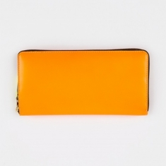 Comme des Garcons Wallet Super Fluo L (SA0110SF) - Light Orange