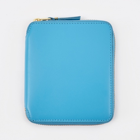 Comme Des Garcons Wallet Classic Leather M - (SA2100) - Blue