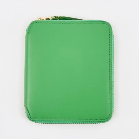 Comme Des Garcons Wallet Classic Leather M - (SA2100) - Green