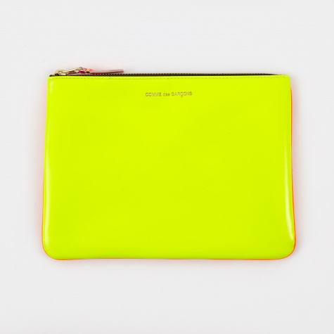 Comme des Garcons Wallet Super Fluo W (SA5100SF) - Yellow/Orange