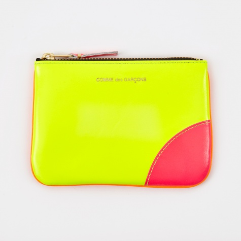 Comme des Garcons Wallet Super Fluo (SA8100SF) - Yellow/Orange