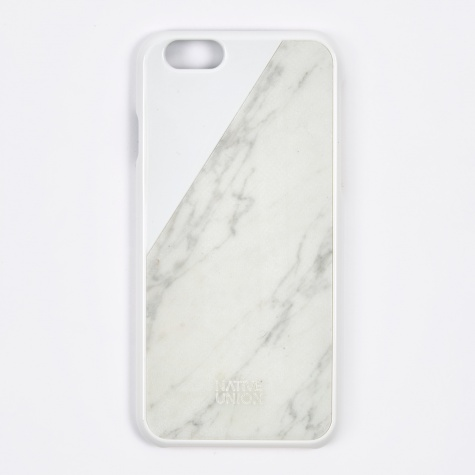 Clic Marble iPhone 6 Case - White