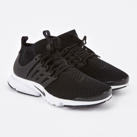 Air Presto Ultra Flyknit - Black/Black