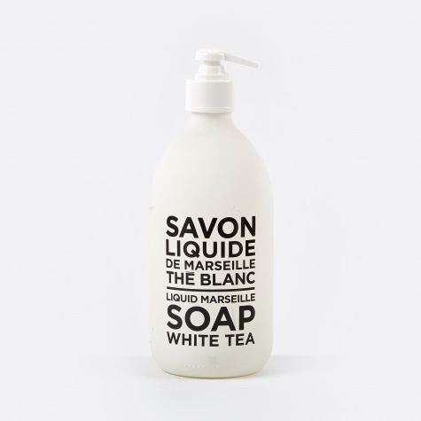 Liquid Marseille Soap 500ml - White Tea