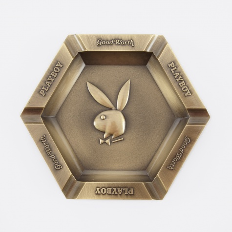 x Playboy Bunny Ashtray - Brass