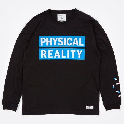 x Cali Thornhill DeWitt Physical Reality LS T-Shirt - Bla