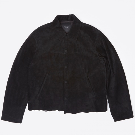 Suede Jacket - Black