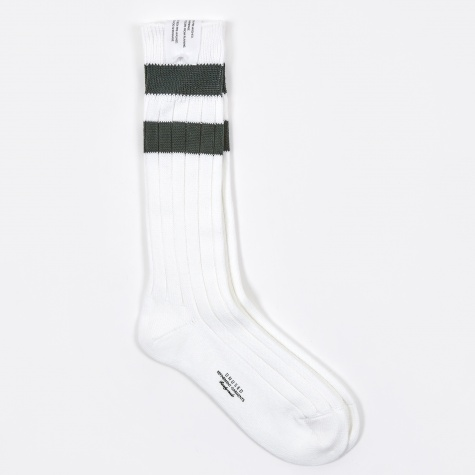 Sport Sock - White/Green