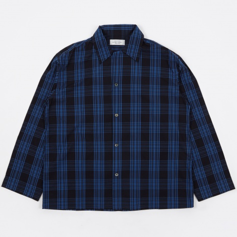 Check Shirt - Navy/Blue