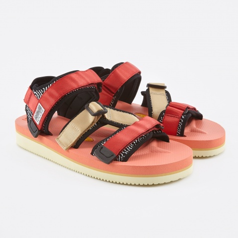 x Slam Jam Sandal - Red