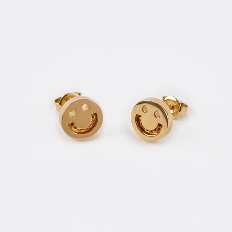 Happy Studs - 18K Yellow Gold Vermeil